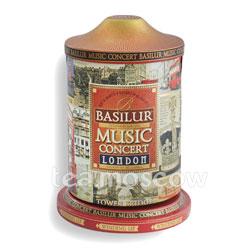 Чай Basilur Коллекция МУЗЫКАЛЬНАЯ ШКАТУЛКА Лондон 100 гр