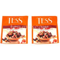 Чай Tess Flame (Гибискус с ароматом земляники с розовым перцем) 100 пак. п/э ХРК
