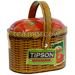 Чай Tipson Basket Tangerine/Лукошко Мандарин ж.б.100 гр