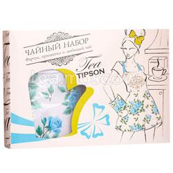 Tipson Подарочный чайный набор Вдохновение с фартуком и прихваткой.