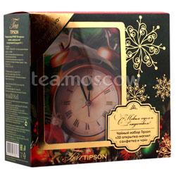Tipson подарочный чайный набор N 1.1 3D открытка-магнит, салфетка и чай