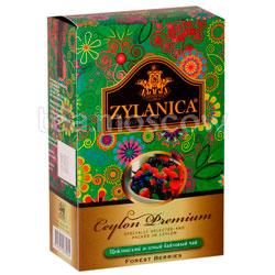 Чай Zylanica Ceylon Premium зеленый  Лесные ягоды 100 гр