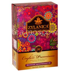 Чай Zylanica Ceylon Premium Super Pekoe черный 200 гр