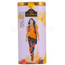 Чай Zylanica Fashion Pekoe Marigold & Safflower Petals / Черный с календулой и сафлором 100 гр ж.б