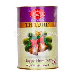 Ти Тэнг Новогодний колокольчик в металлической банке 125 гр