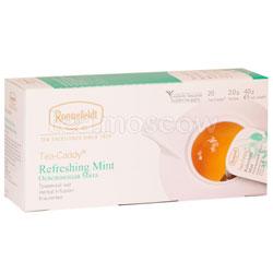 Чай Ronnefeldt Refreshing Mint/Освежающая Мята в сашете на чайник (Tea Caddy)