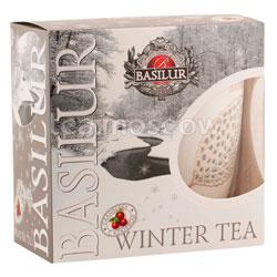 Чайный набор Basilur ВРЕМЕНА ГОДА Зимний 100 гр (чай и кружка)