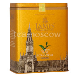 Чай James Grandfather FBOP Soure Tin. Черный, ж.б. 200 гр