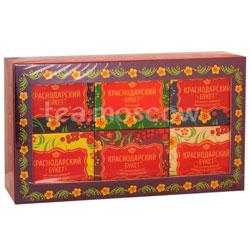 Чай Краснодарский букет Подарочный набор чая 6 уп-50 гр