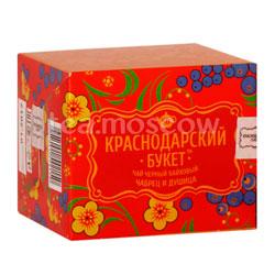 Чай Краснодарский букет Черный байховый с чабрецом и душицей 50 гр