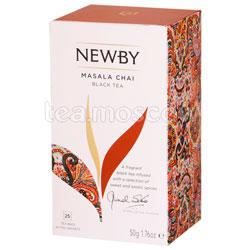 Чай пакетированный Newby Масала чай 25 шт