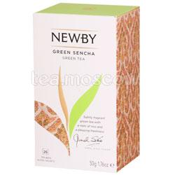 Чай пакетированный Newby Зеленая сенча 25 шт