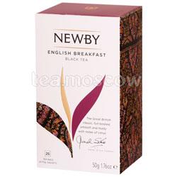 Чай пакетированный Newby Английский завтрак 25 шт