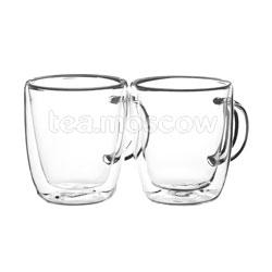 Набор из двух чашек Bellavita с двойными стенками 390 мл BV-370
