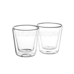 Набор из двух чашек Bellavita с двойными стенками 200 мл BV-365
