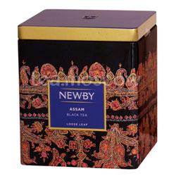 Листовой чай Newby Ассам 125 гр