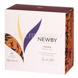 Чай Newby Черный Ассам 50 шт