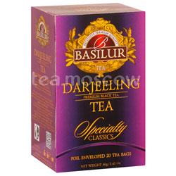 Чай Basilur Избранная классика Darjeeling 20 пак