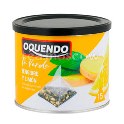 Чай Oquendo Имбирь и Лимон пирамидки 15 шт