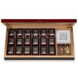Подарочный чайный набор Dammann Carmin/Кармин (18 банок чая по 15, 25 и 30 гр)
