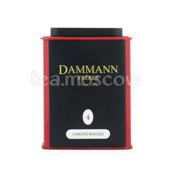 Чай Dammann 4 красных фрукта 100 гр