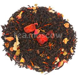 Черный чай Дикая Вишня с ягодой