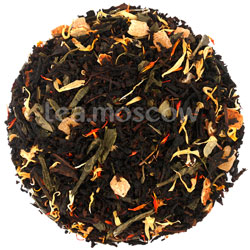 Черно-зеленый чай Монах