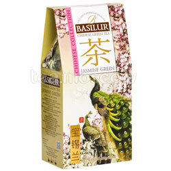 Чай Basilur КИТАЙ Зеленый с жасмином 100 г