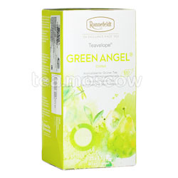 Чай Ronnefeldt Green Angel BIO / Зеленый Ангел в пакетиках 25 шт.х 1,5 гр
