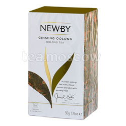 Чай пакетированный Newby Женьшеневый улонг 25 шт