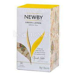 Чай пакетированный Newby Зеленый лимон 25 шт