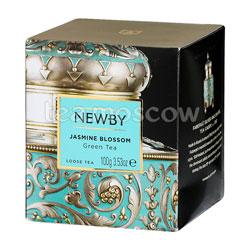 Чай листовой Newby Цветок жасмина 100 гр