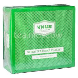 Чай Vkus Зелёный Сенча в пирамидках 50 шт
