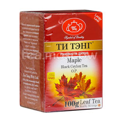 Чай Ти Тэнг Черный Кленовый сироп 100 гр