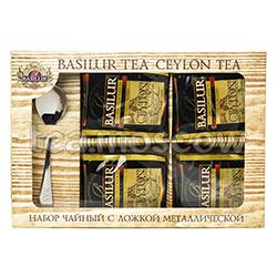 Набор чайный Basilur Спешиал Чай и ложка металлическая