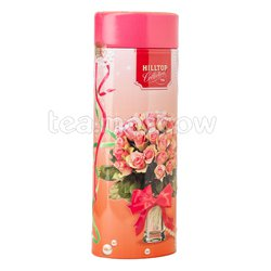 Чай Hilltop Роскошные розы Земляника со сливками 100 гр