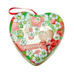 Чай Hilltop Земляничное сердечко Земляника со сливками 50 гр