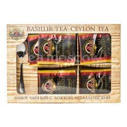 Набор чайный Basilur Спешиал Чай English Breakfast и ложка металлическая
