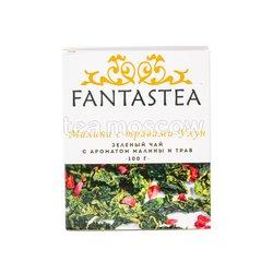 Чай Fantastea Зеленый малина с травами улун 100 гр