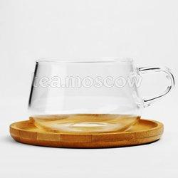 VIVA Classic Чайная чашка с блюдцем 0,25 л (V75800) Прозрачный
