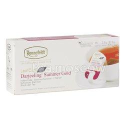 Чай Ronnefeldt Darjeeling Summer Gold Leaf Cup/ Дарджилинг Саммер Голд в саше на чашку