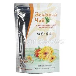 Чай Черный Дракон Зеленый с сафлором и желтой хризантемой 100 гр