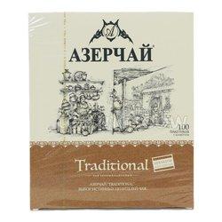 Чай Азерчай Traditional в Пакетиках 100 шт