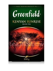 Чай Greenfield Kenyan Sunrise 200 гр