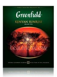 Чай Greenfield Kenyan Sunrise 100 пакетиков
