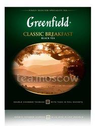 Чай Greenfield Classic Breakfast 100 Пакетиков