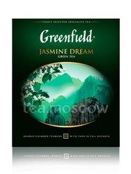 Чай Greenfield Jasmine Dream 100 пакетиков
