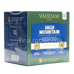 Чай Vahdam High Mountain улун в пакетиках 15 шт.