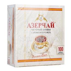 Чай Азерчай Бергамот черный 100 пакетики