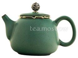 Чайник из керамики морская волна 250 мл (ZZT-03)